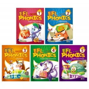 EFL Phonics (3rd Edition) 1 2 3 4 5 레벨 선택